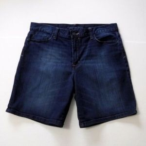 Calvin Klein High Rise Denim Jean Shorts Size 32